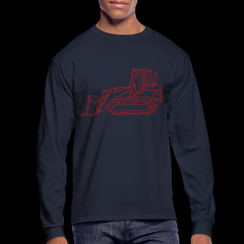 Bulldozer - Men's Long Sleeve T-Shirt