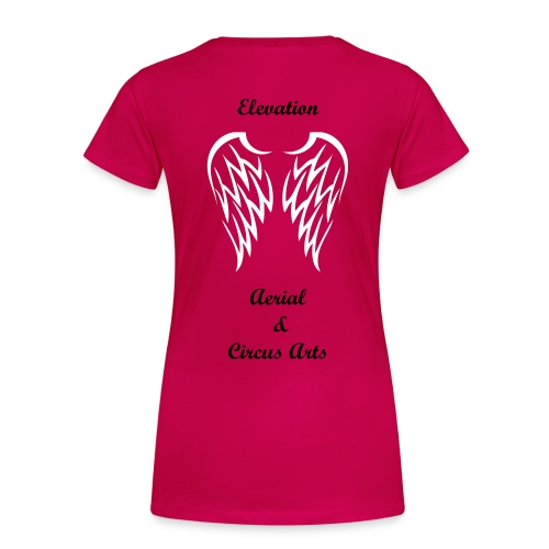 I fly with...  - Women's Premium T-Shirt