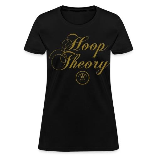 LADY HT SIGNATURE BLACK TEE - Women's T-Shirt
