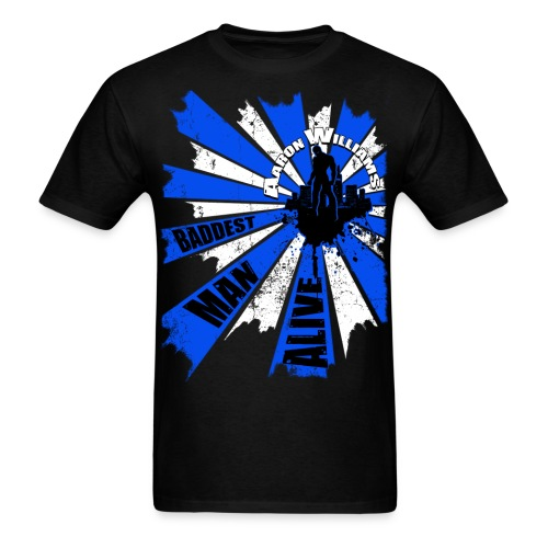 OFFICIAL Aaron Williams Tshirt - Men's T-Shirt
