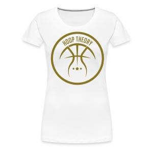 LADY HT SIGNATURE LOGO TEE - Women's Premium T-Shirt