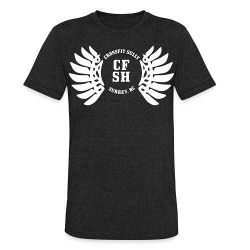 The Sully Classic Shirt B/W - Unisex Tri-Blend T-Shirt