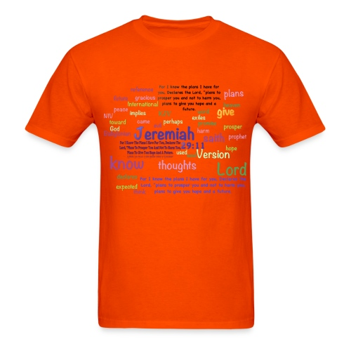 Jeremiah 29:11 - Men's T-Shirt