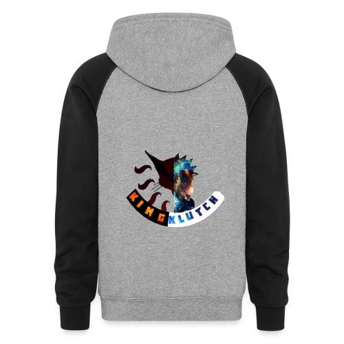 Fox/Galaxy Hoodie - Colorblock Hoodie
