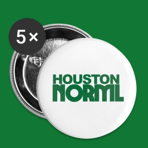 Green Houston NORML Logo Button's - Large Buttons