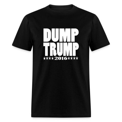 Men's DUMP TRUMP 2016 - Men's T-Shirt