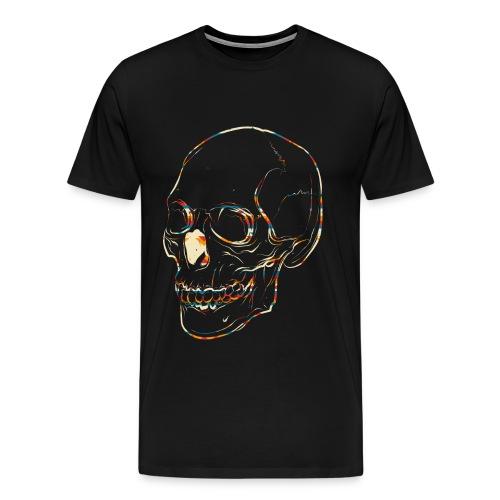 Aztec Skull 1 - Men's Premium T-Shirt