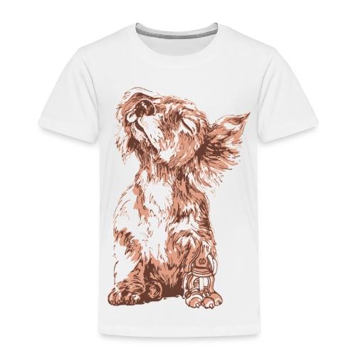 Robo-Puppy - Toddler Premium T-Shirt