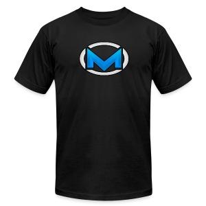 MOBB3D Next Gen Blue - T-shirt by American Apparel - Men's Fine Jersey T-Shirt