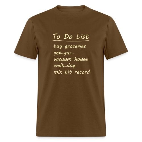 To Do List - Men's T-Shirt