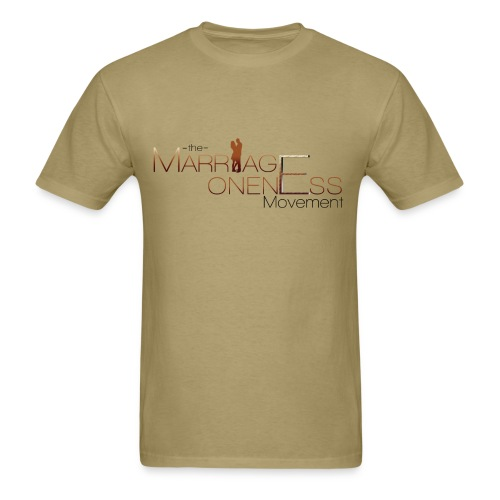 The Marriage Oneness Movement T-shirt - Men's T-Shirt