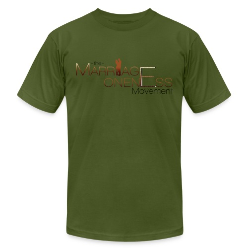 The Marriage Oneness Movement T-shirt - Men's Fine Jersey T-Shirt
