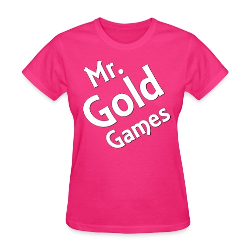 Mr.GoldGames T-Shirt - Women - Women's T-Shirt