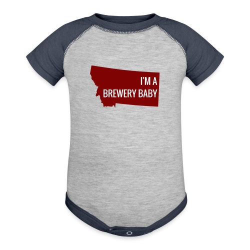 I'm a Brewery Baby - Contrast Baby Bodysuit