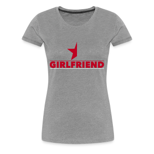 Half-Star Girlfriend - Women's Premium T-Shirt
