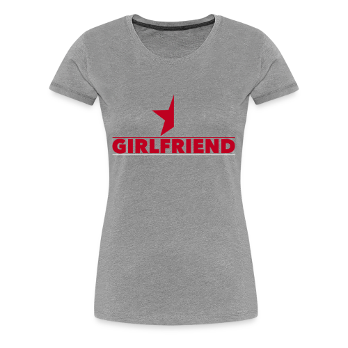 Half-Star Girlfriend - Women's Premium T-Shirt