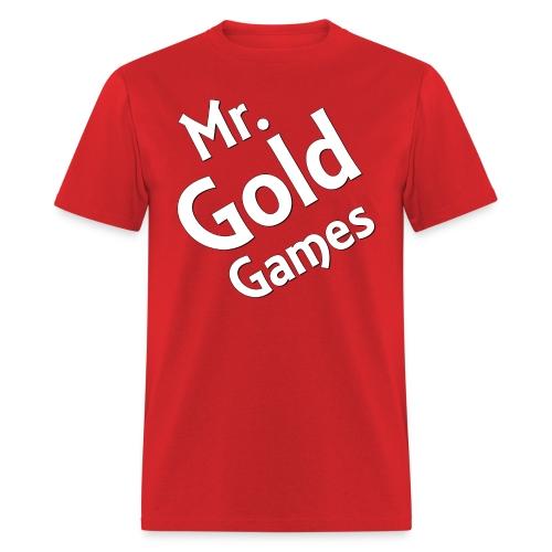 Mr.GoldGames T-Shirt - Men - Men's T-Shirt