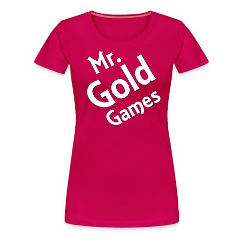 Mr.GoldGames Premium T-Shirt - Women - Women's Premium T-Shirt