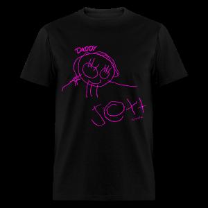 Daddy By: Jett! Mens T-Shirt (PINK) - Men's T-Shirt