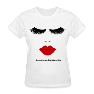 Lashes and Lips - Women's T-Shirt
