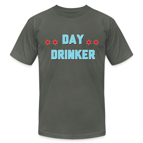 Day Drinker Men's T-Shirt Dark Grey - Men's Fine Jersey T-Shirt
