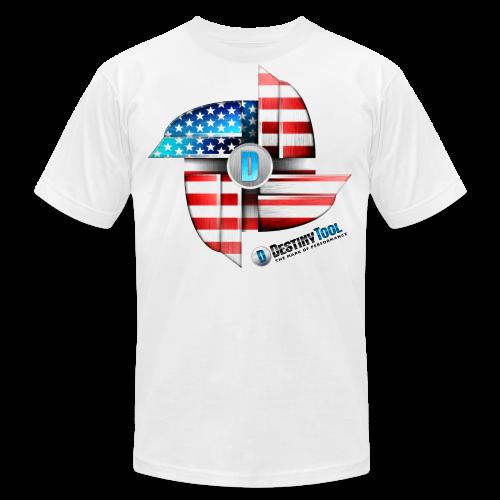 Destiny T White - Men's Fine Jersey T-Shirt