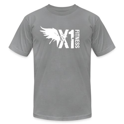 Men's X1 Fitness Tshirt, Charcoal - Men's  Jersey T-Shirt