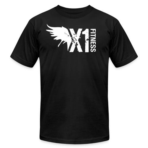 Men's X1 Fitness Tshirt, Black - Men's  Jersey T-Shirt