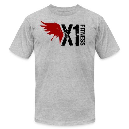 Men's X1 Fitness Tshirt, Light Gray - Men's  Jersey T-Shirt
