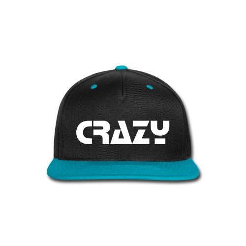 CRAZY Hat - Snap-back Baseball Cap