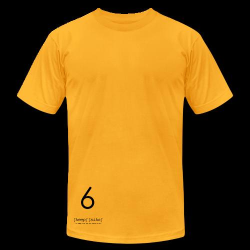 Keep 6® X American Apparel® Special DHL Tee - Men's Fine Jersey T-Shirt