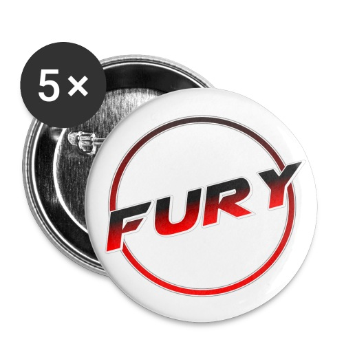 Fury Buttons (1 Diameter) - Small Buttons