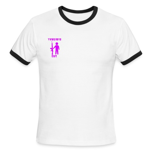 Yung Boys ENT - Men's Ringer T-Shirt