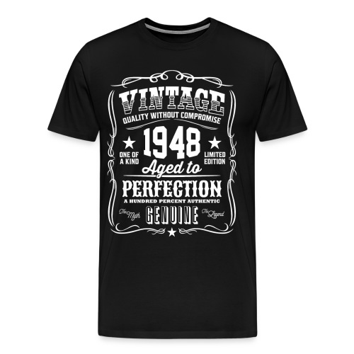 Vintage 1948 Aged to Perfection - Men's Premium T-Shirt