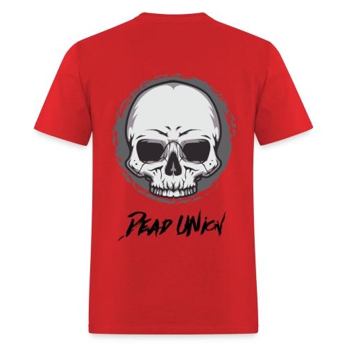 Dead Union Male T-Shirt (Back) - Men's T-Shirt