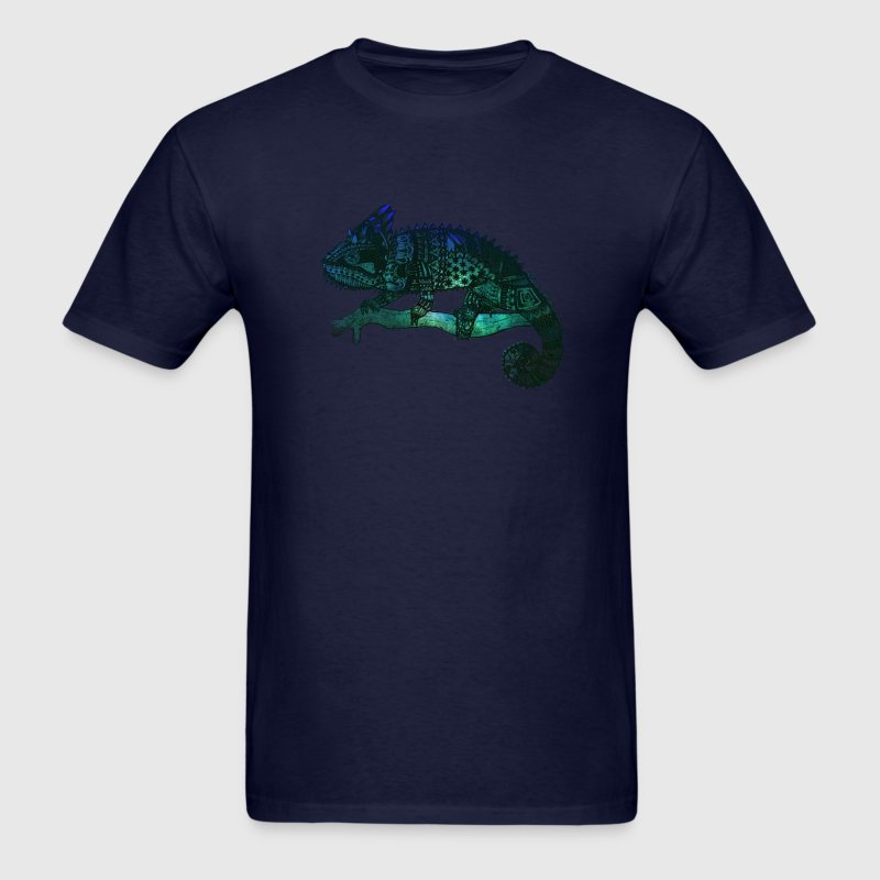 Chameleon space - Men's T-Shirt