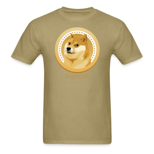 Dogecoin Mega - Men's T-Shirt