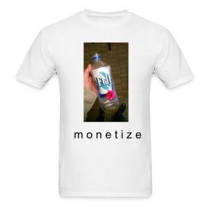 m o n e t i z e (mens) - Men's T-Shirt