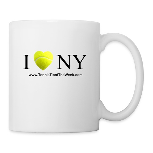 I Love(tennis) NY mug - Coffee/Tea Mug