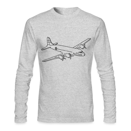 Airplane - Men's Long Sleeve T-Shirt by Next Level