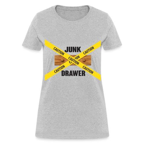 Junk Drawer Logo Woman's T - Women's T-Shirt