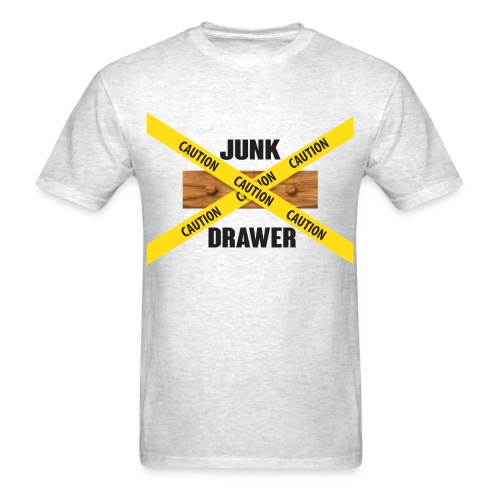 Junk Drawer Logo Men's T - Men's T-Shirt
