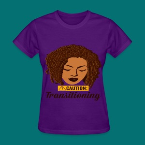 Caution Transitioning  - Women's T-Shirt