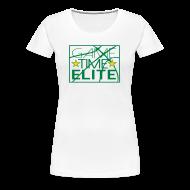 Women's T-Shirts ~ Women's Premium T-Shirt ~ Game Time Elite white