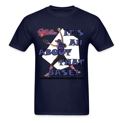 GGFA Mens About that Base - Men's T-Shirt