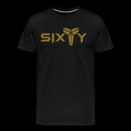 T-Shirts ~ Men's Premium T-Shirt ~ Sixty black