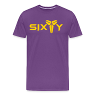 T-Shirts ~ Men's Premium T-Shirt ~ Sixty purple