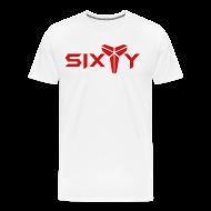 T-Shirts ~ Men's Premium T-Shirt ~ Sixty white