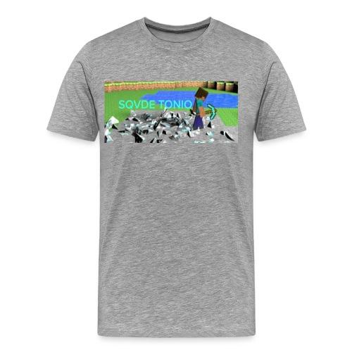 (MINECRAFT) SQVDE TONIO SHIRT - Men's Premium T-Shirt
