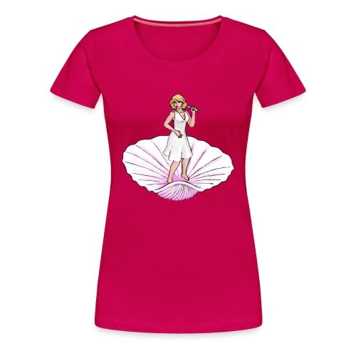 Rock Goddess Blondie - Women's Premium T-Shirt